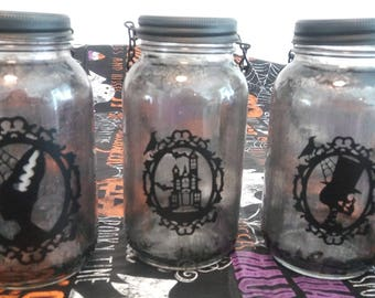 Gothic Cameo Lanterns