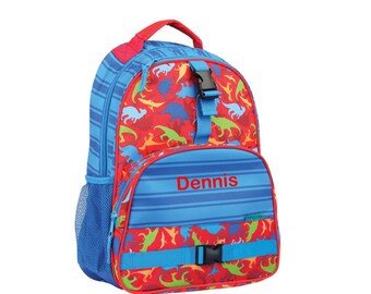Personalized Dinosaur Backpack by Stephen Joseph