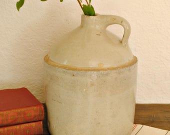Antique stoneware jug- Pacific Pottery Co. Oregon