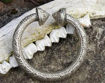 Tuareg Berber Silver Slave Anklet Bracelet