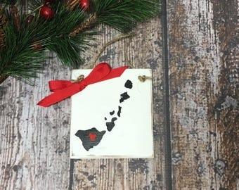 North Carolina State Christmas Ornament Personalized Christmas