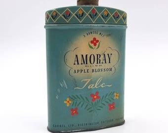 Amoray Apple Blossom Talc