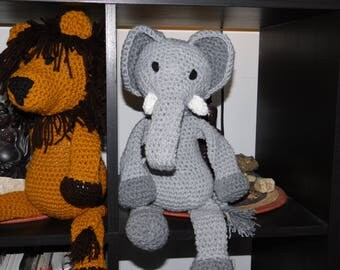 WeeKinder Crocheted Stuffed Animal - Elephants