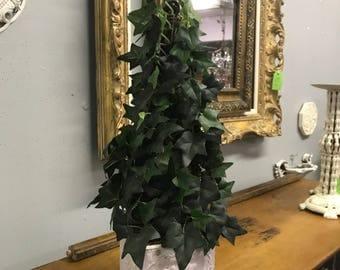 Ivy Topiary, Topiary, Topiary Centerpiece, Ivy Tree, Topiary Decor, Tabletop decor