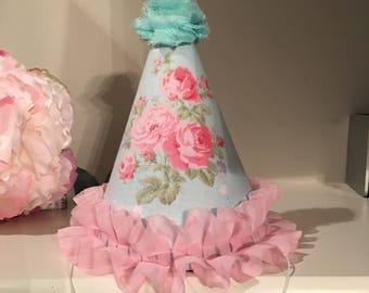 Birthday party hat, photo prop
