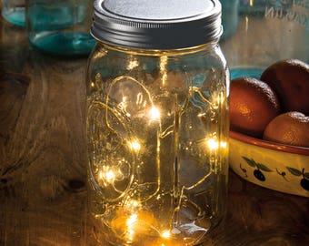 PBK Light Supply - LED Wide Mouth Mason Jar Lid Lights