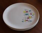 Salem Mardi Gras dinner plates - 4