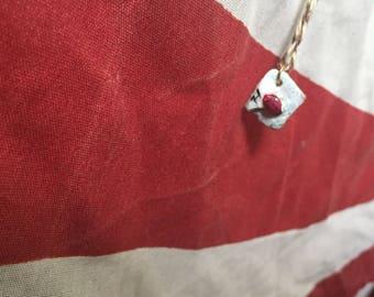 Harry Potter letter, envelope, necklace, Harry Potter fan jewelry, fun cute gift.