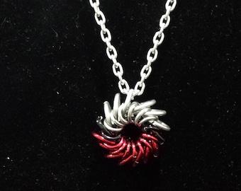 Whirleybird Pendant with chain Pokemon Hogwarts colors