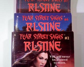 Fear Street Saga Books, Set of 3 (#2,#6,#7)