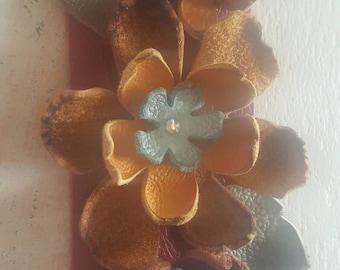 Leather Boho Bracelet Cuff