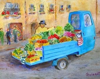 Sicilian Vegtable Truck