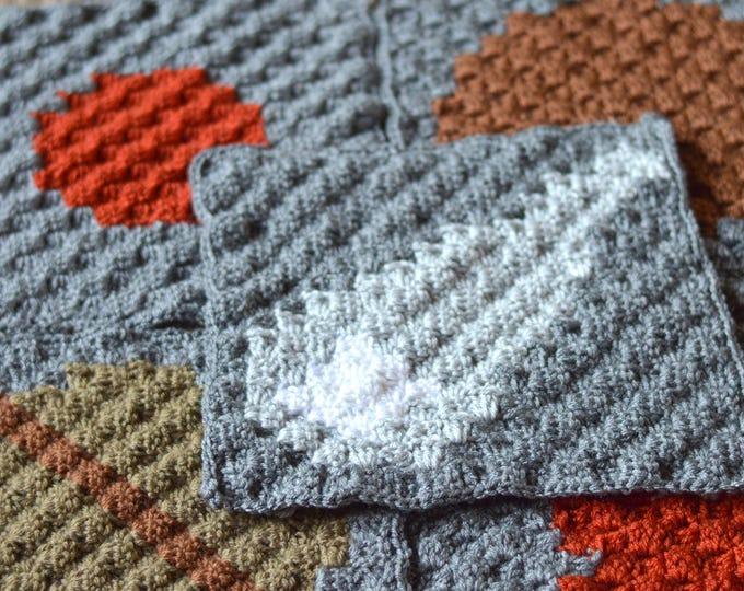 C2C Solar System Blanket Crochet Pattern PDF DIGITAL DOWNLOAD