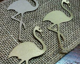 Flamingo Die Cut 20 CT- Scrapbooking- Card Making- Cutout- Custom Colors Available