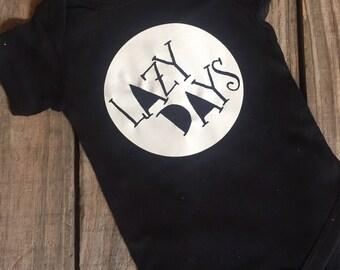 Lazy Days Bodysuit Shirt or Gown