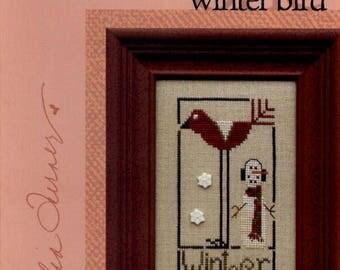 Heart in Hand: Winter Bird - a Wee One Cross Stitch Pattern