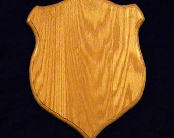 Solid Oak Taxidermy plaque