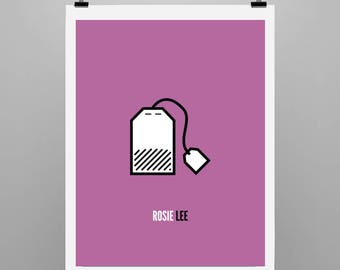 Rosie Lee - Graphic Illustration Print