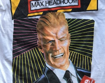 1984 Max Headroom Coke t shirt USA small