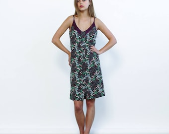 Big Summer Sale Strappy Summer Floral Print Mini Dress, Multicolour