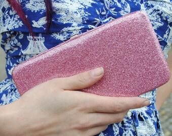 Glitter wallet! -Pink