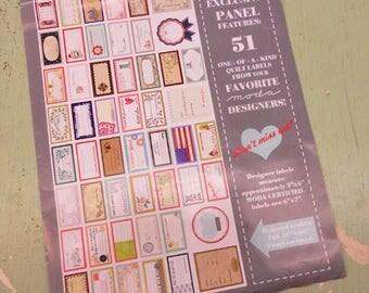 Moda Labels...quilt labels...fabric labels...51 labels