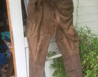 French lightweight cord vintage breeches