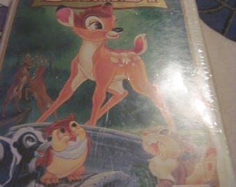 Vintage Disney's 55th Anniversary Bambi MasterPiece Collection Movie VHS Tape ...NOS...never opened......or BEST Offer...FrEe ShIpPiNg