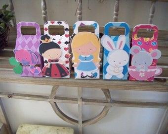 Alice in Wonderland Favor Boxes Set of 20