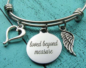 loss of baby gift, sympathy gift, miscarriage bracelet, remembrance gift, infant loss of loved one, grief and mourning, memorial jewelry