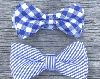 kids navy bowtie, kids navy tie, mens navy bow, baby navy bow tie, baby navy bow, boys navy bow tie, navy gingham tie, navy bow tie,
