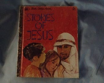Vintage Little Golden Book Stories of Jesus