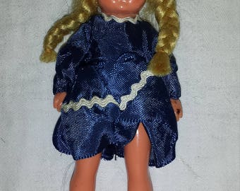 Western Germany Vintage Doll for Dollhouse