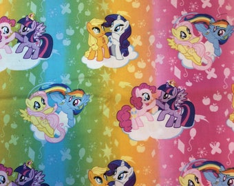My little pony fabric bty