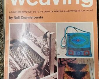 Step by step weaving - vintage book