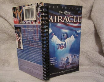 Miracle VHS notebook