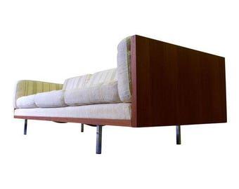 DANISH Mid Century Modern TEAK SOFA couch