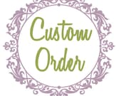Custom Flower Crowns - 5 floral halos, details from convo