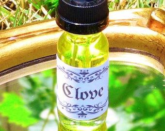 Clove Oil Spiritual Ritual Oil Spirits Love Aphrodisiac CURIO Gypsy Witch Magick Pagan Wicca