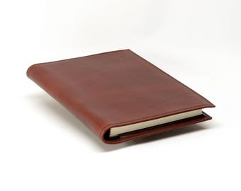Refillable Leather Journal Cover