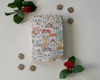 Junk Journal | Home for the Holidays Theme | Diary, Scrapbook, Photo Album