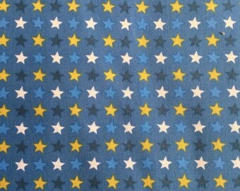 FabricFreedom Goal Collection FF229 by the half metre in blue