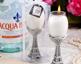 res Chic Eiffel Tower Candle Holders Wedding Favors Bridal Shower Favors