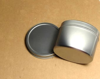 4 ounce Food Safe Steel Tin