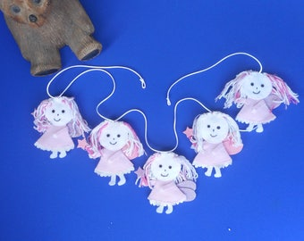 Fairy Bunting, fairy party, fairy garland, fairy banner, fairy princess, pink fairy, baby shower, girls bedroom,  Free postage within the uk