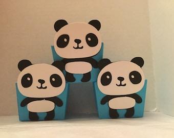 Cute Panda Treat Cups Set of 12