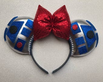 Disney Star Wars R2D2 Mickey Ears
