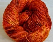 Hand dyed sock yarn - TIGER LILY - Spring / Summer 2017 Collection