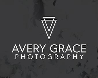 Photography Logo, Photography Watermark, Handwritten Cursive Logo, Photography Stamp, Business Logo, Branding Kit, Brother Wilson - BW012