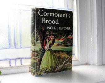 Cormorant's Brood Vintage Book 1st Edition Author Signed Inglis Fletcher